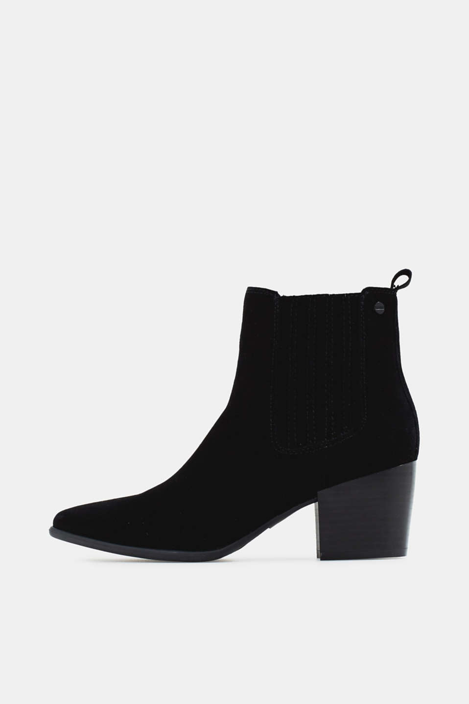 Esprit - Ankle boots made of 100% genuine leather