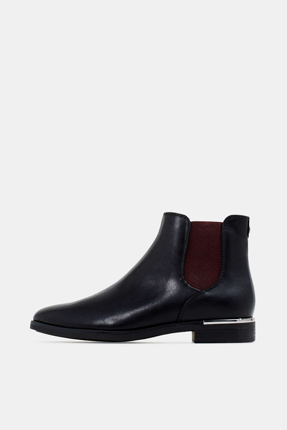 Esprit - Chelsea boots in een leerlook