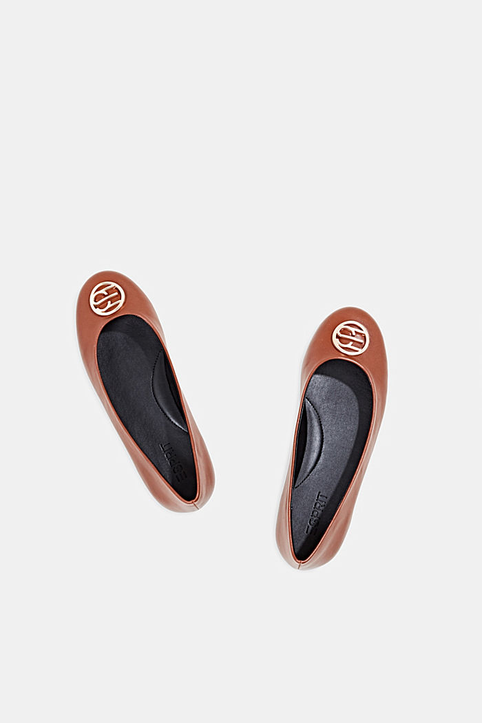 Ballerinas with an ornamental logo, TOFFEE, detail image number 1