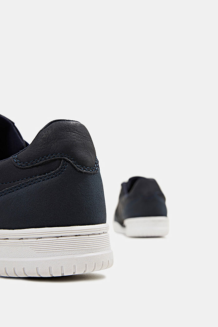 Faux leather trainers, NAVY, detail image number 5