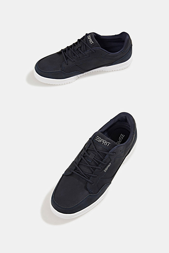 Faux leather trainers, NAVY, detail image number 6