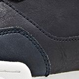 Faux leather trainers, NAVY 2, swatch