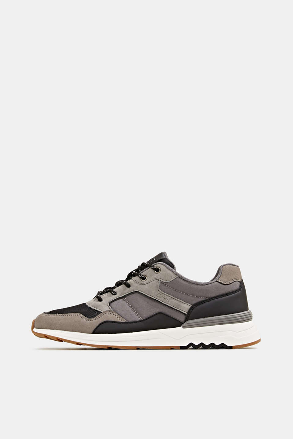 Esprit - Trainers in a mix of materials