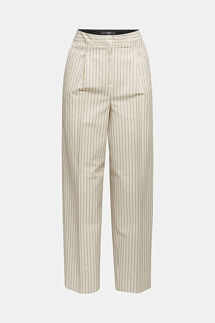Pants woven, LIGHT BEIGE, detail image number 7