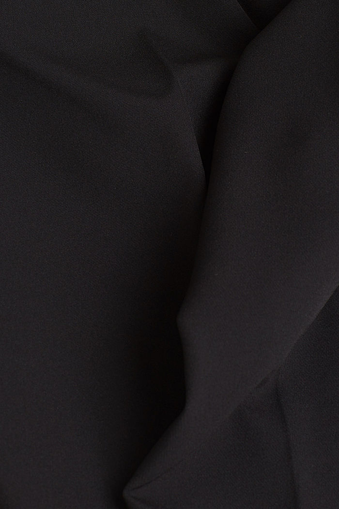 Stretch trousers with an elasticated waistband, BLACK, detail image number 4