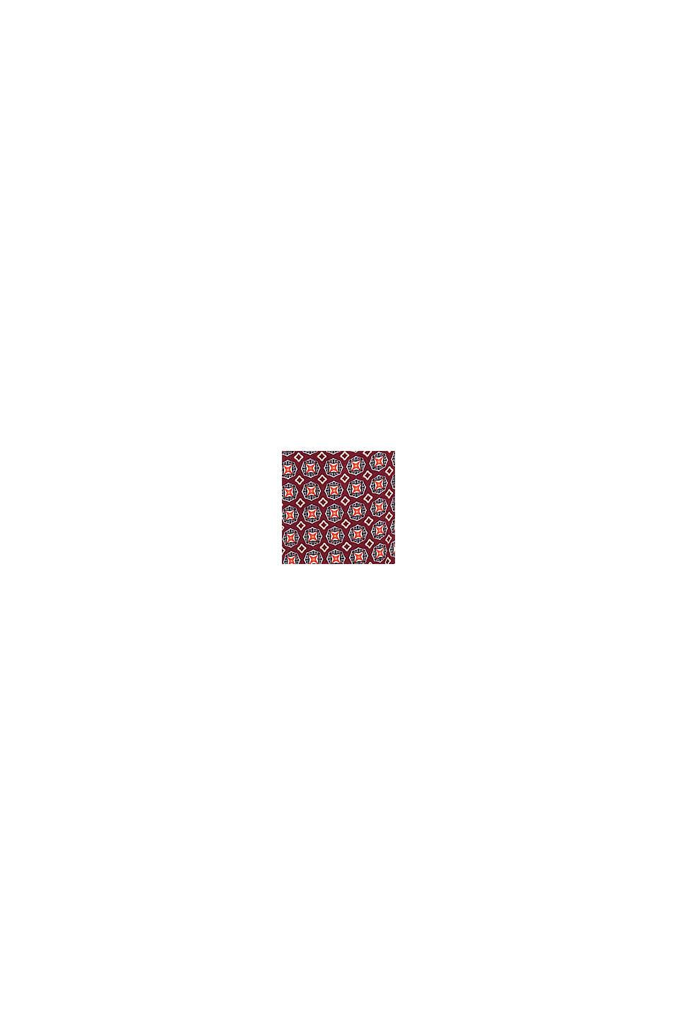 Blusa estampada en LENZING™ ECOVERO™, BORDEAUX RED, swatch