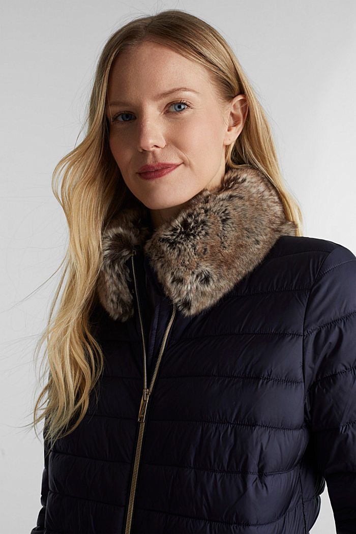 Reciclada: chaqueta Thinsulate™ de 3M™, NAVY, detail image number 6