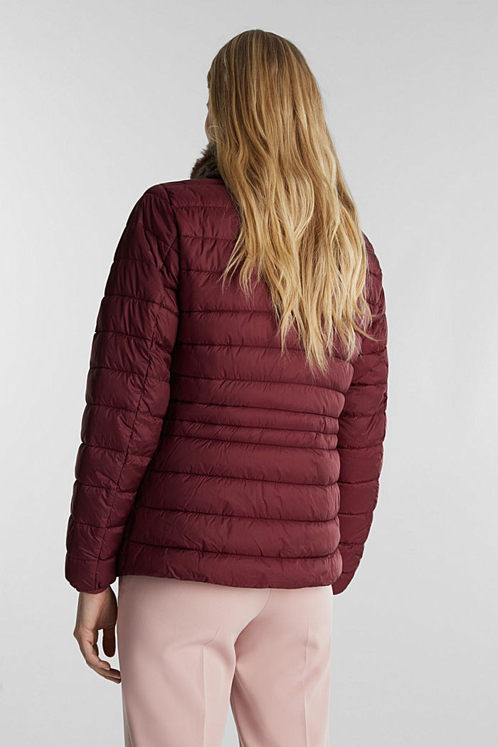 Recycled: 3M™ Thinsulate™ jacket, BORDEAUX RED, detail image number 3