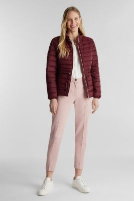 Recycled: 3M™ Thinsulate™ jacket, BORDEAUX RED, detail