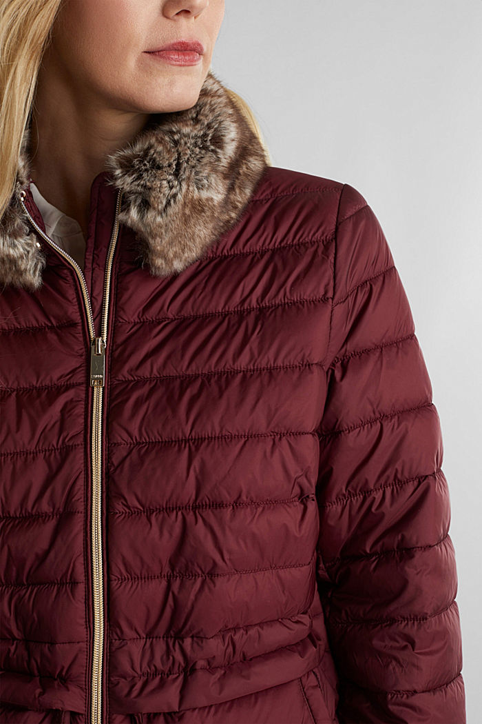 Recycled: 3M™ Thinsulate™ jacket, BORDEAUX RED, detail image number 2
