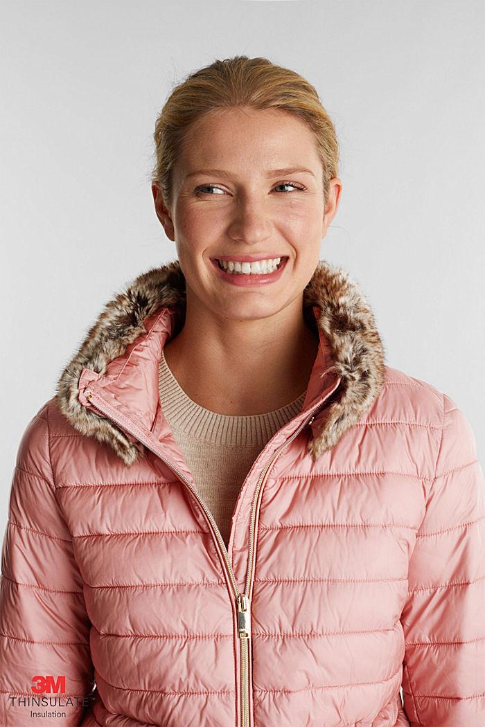 En matière recyclée: la veste en 3M™ Thinsulate™