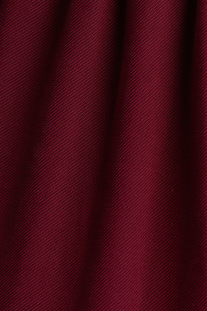 Made of LENZING™ ECOVERO™: Jumpsuit, BORDEAUX RED, detail image number 4