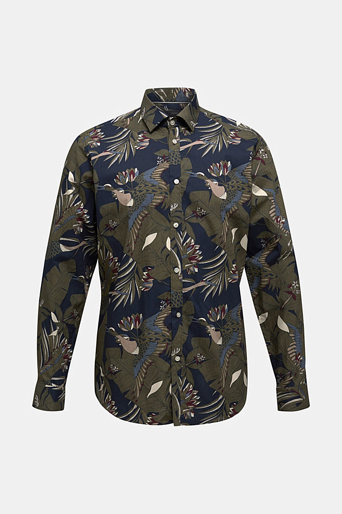 Print-Hemd, 100% Bio-Baumwolle