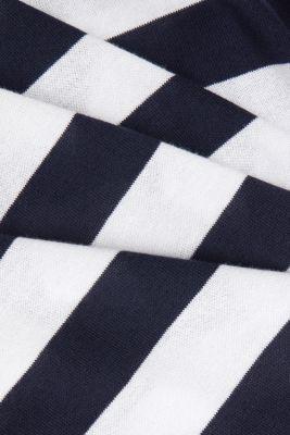 Short-sleeved jumper made of 100% organic pima cotton, NAVY 3, detail