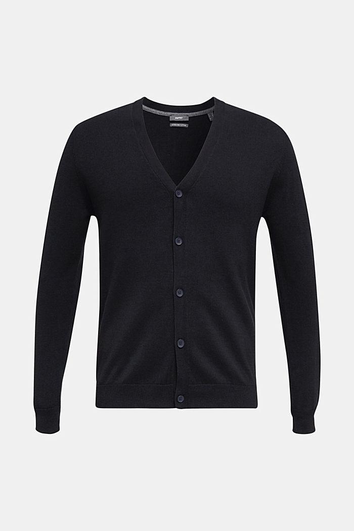 Premium cardigan made of organic pima cotton