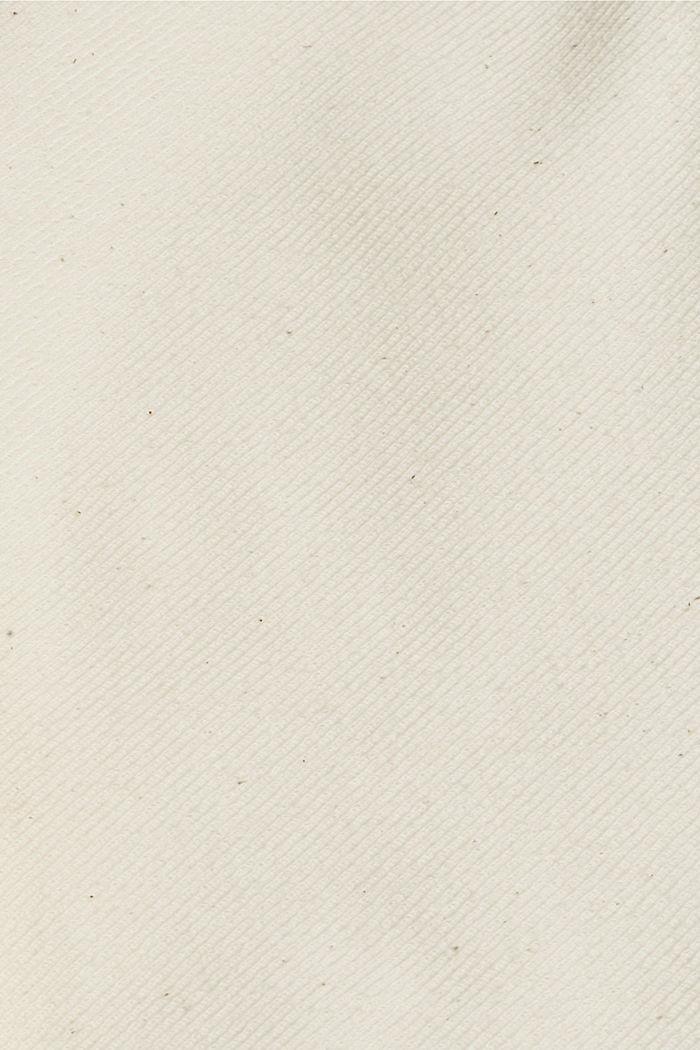 Pantalon de jogging à la coupe tendance, doté d´une ceinture, LIGHT BEIGE, detail image number 4