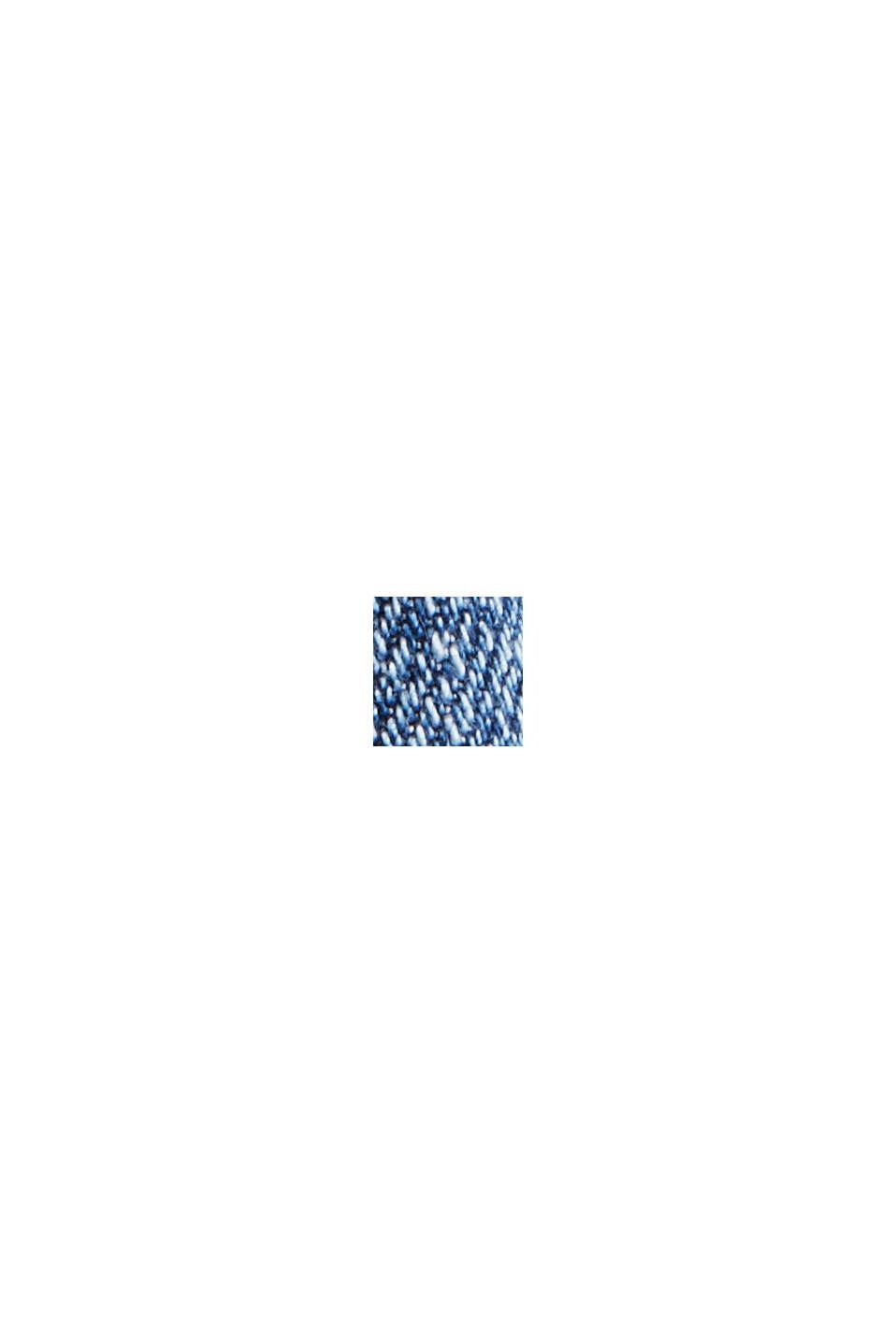 Aus Bio-Baumwolle/Hanf: used Boyfriend-Jeans, BLUE MEDIUM WASHED, swatch