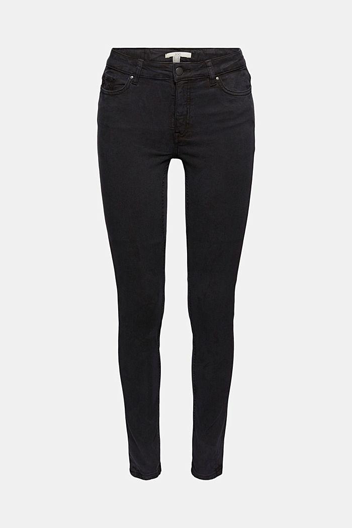 In misto lyocell: pantaloni in twill molto elasticizzato
