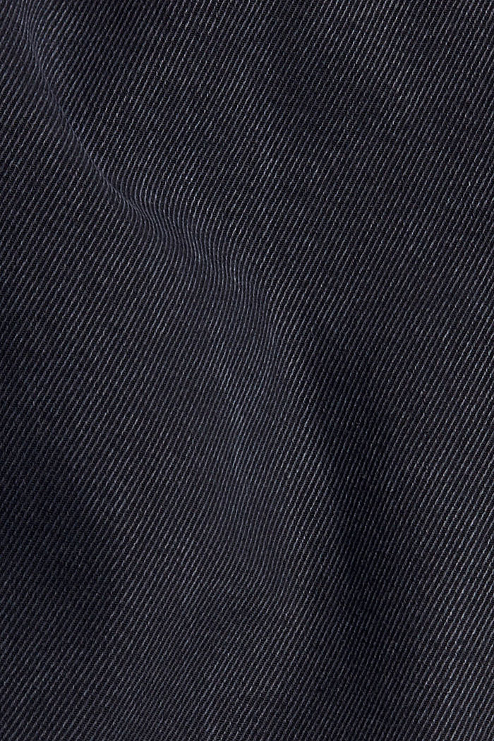In blended lyocell: super stretchy twill trousers, NAVY, detail image number 4