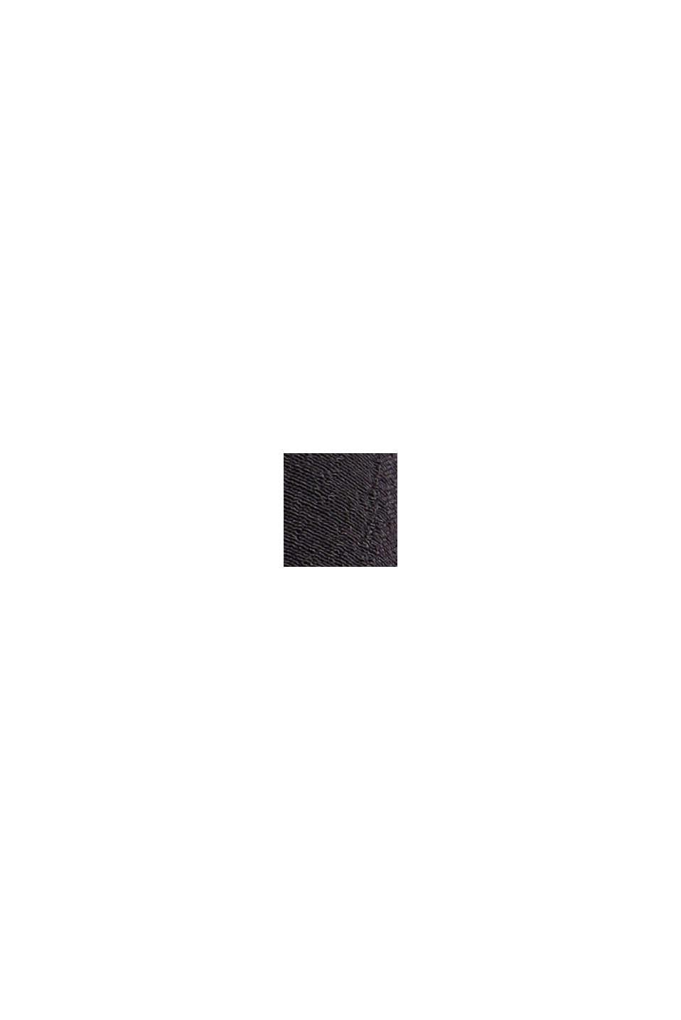 Minifalda de volantes con diseño fruncido, LENZING™ ECOVERO™, BLACK, swatch