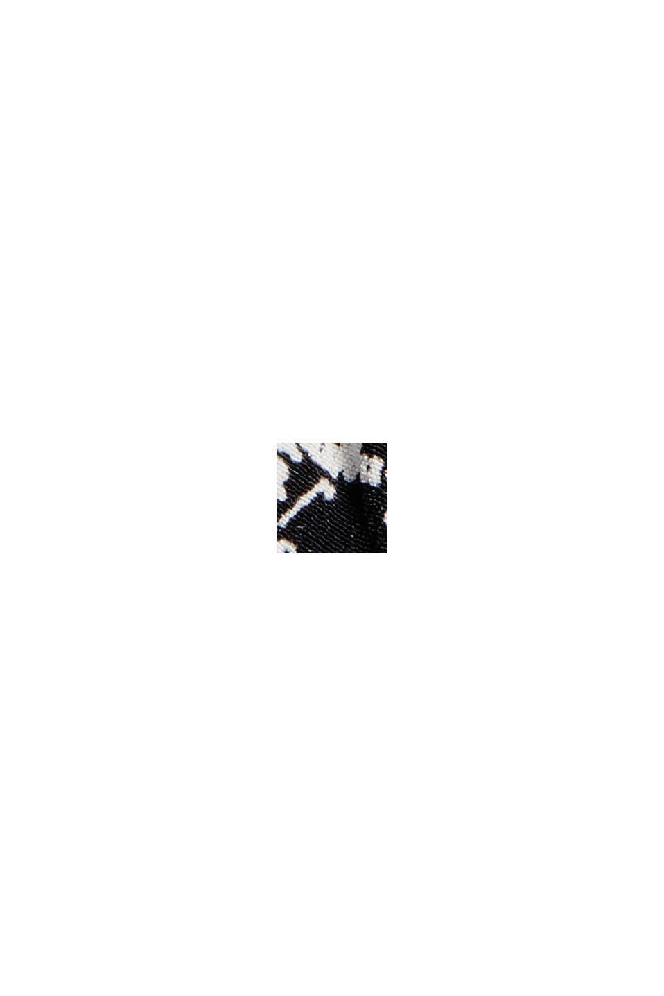 Minifalda de volantes de LENZING™ ECOVERO™, BLACK, swatch