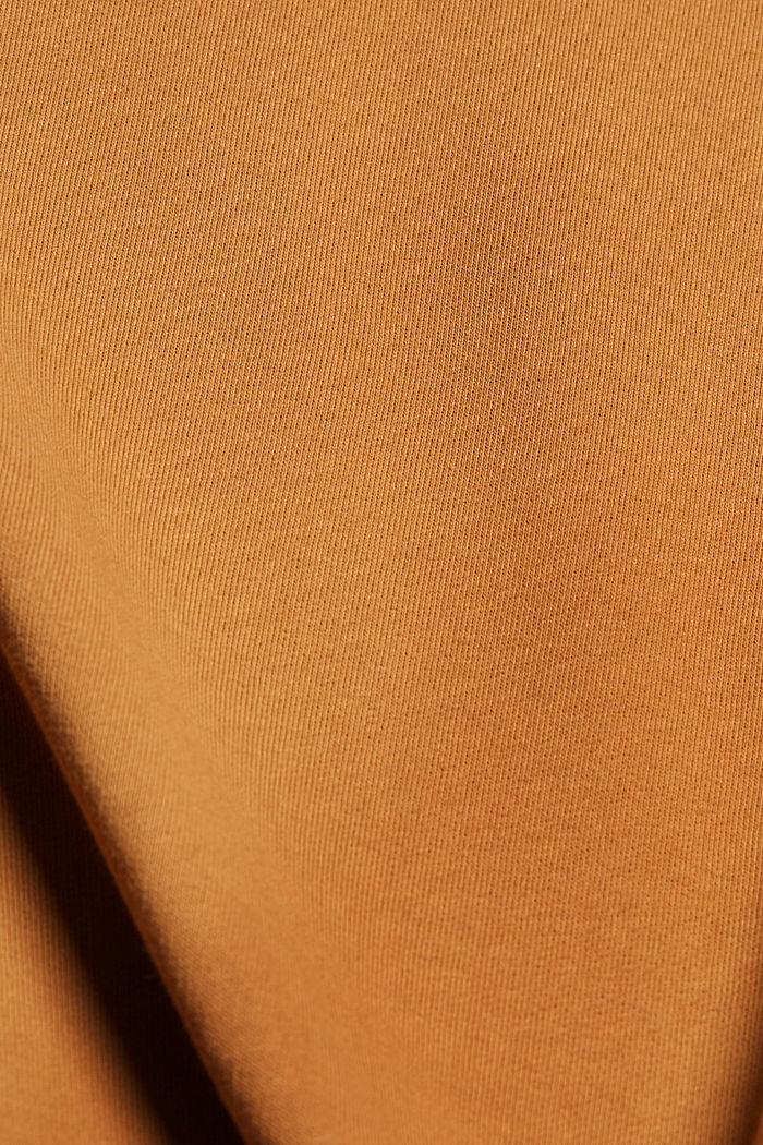 Sweatshirt-Kleid aus Material-Mix, BARK, detail image number 4