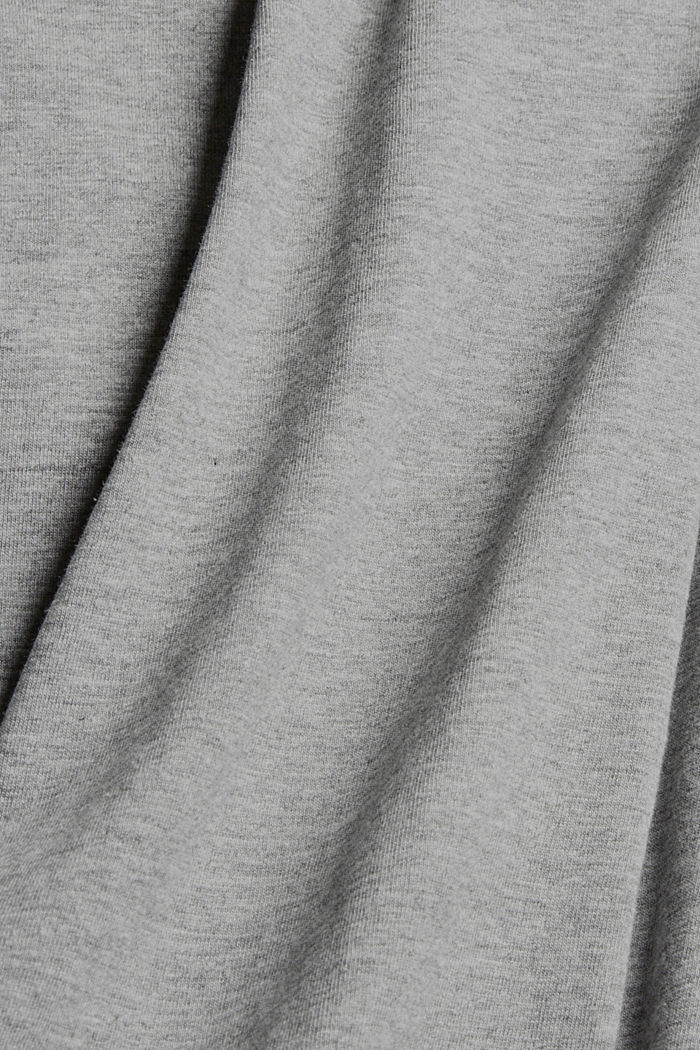 Dresses knitted Boat neck lose fit sw, MEDIUM GREY, detail image number 4