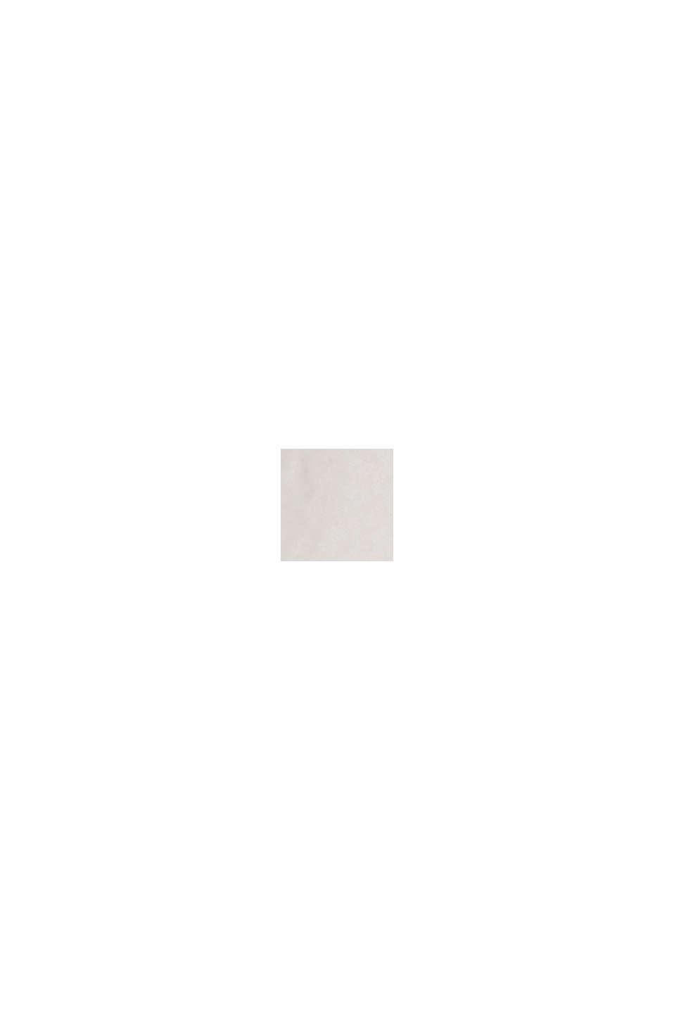 Blouse met 3/4-mouwen, 100% katoen, OFF WHITE, swatch