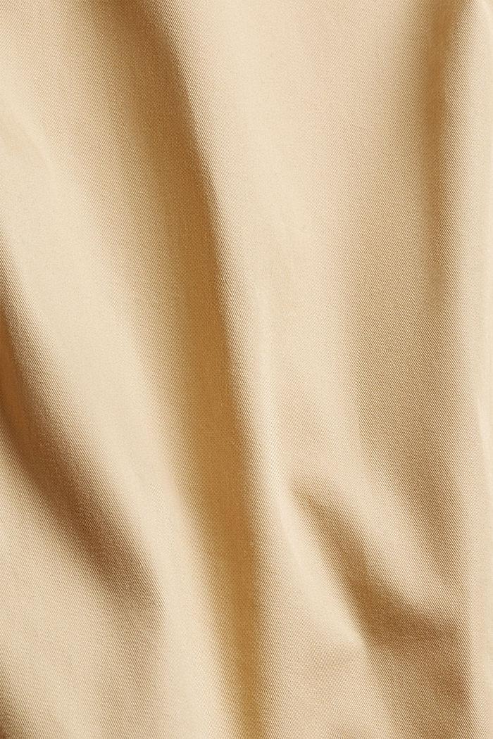 Wasserabweisender Poncho aus 100% Baumwolle, BARK, detail image number 4