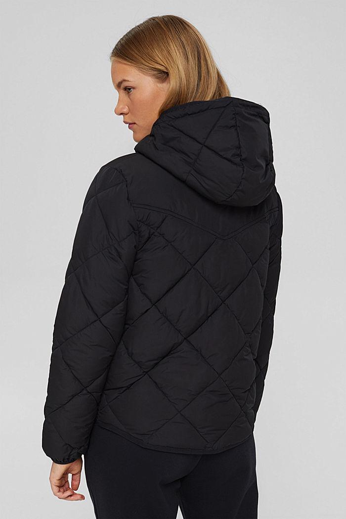 Gerecycled: gewatteerde jas met 3M™ Thinsulate™, BLACK, detail image number 3