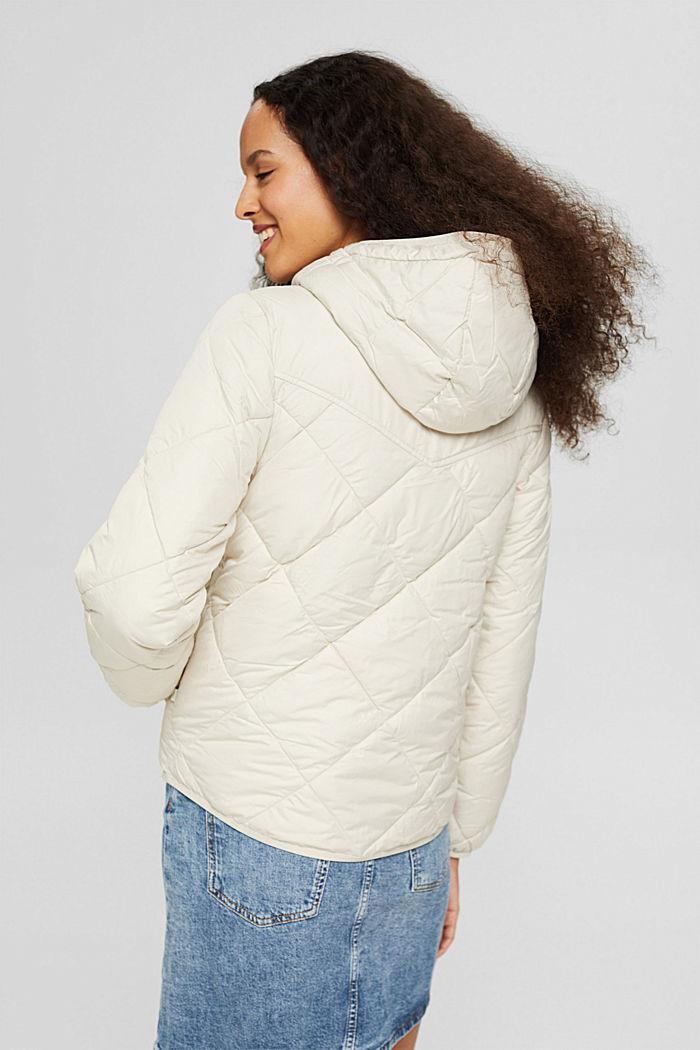 En matière recyclée: la veste matelassée à teneur en 3M™ Thinsulate™, OFF WHITE, detail image number 3