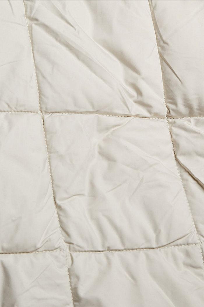 En matière recyclée: la veste matelassée à teneur en 3M™ Thinsulate™, OFF WHITE, detail image number 4