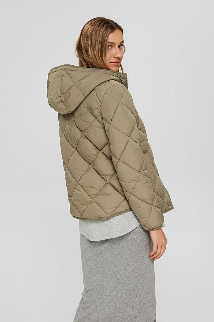 Z recyklingu: pikowana kurtka z ociepleniem 3M™ Thinsulate™, LIGHT KHAKI, detail image number 3