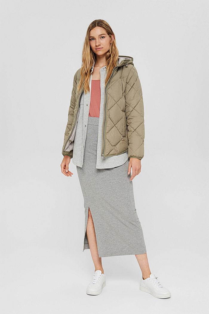 Z recyklingu: pikowana kurtka z ociepleniem 3M™ Thinsulate™, LIGHT KHAKI, detail image number 1