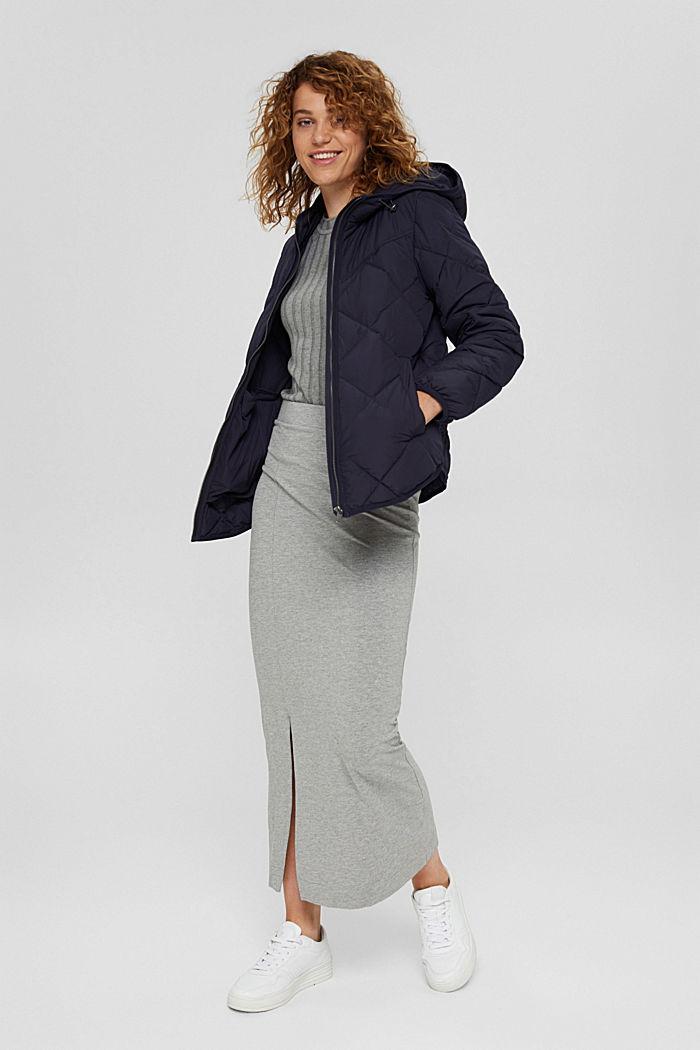 En matière recyclée: la veste matelassée à teneur en 3M™ Thinsulate™, NAVY, detail image number 0