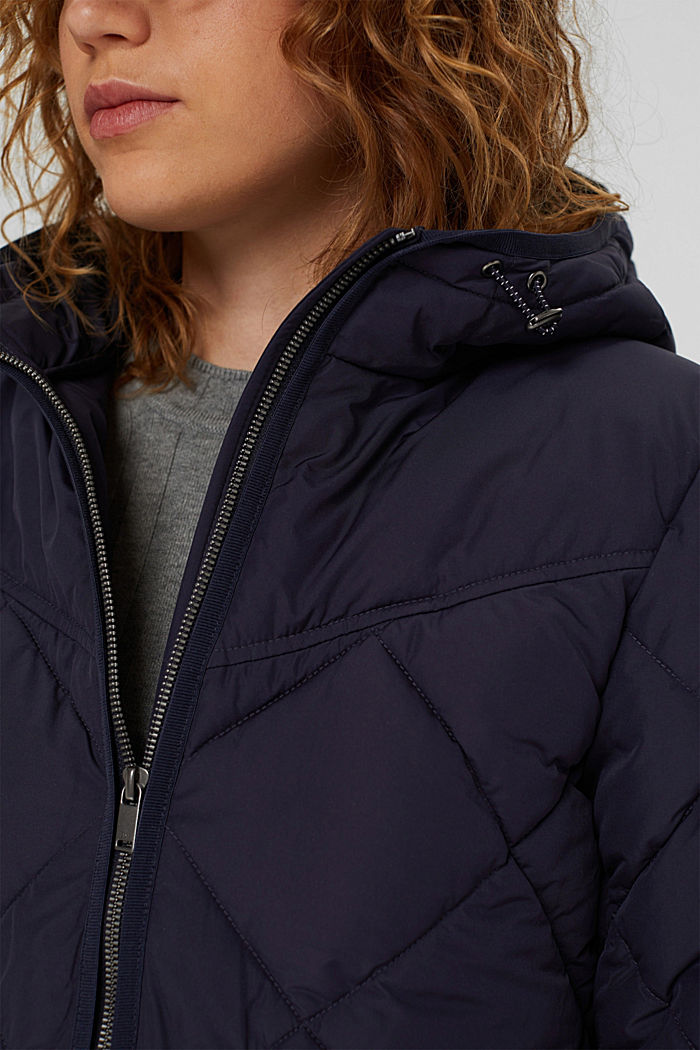 Recycelt: Steppjacke mit 3M™ Thinsulate™, NAVY, detail image number 1