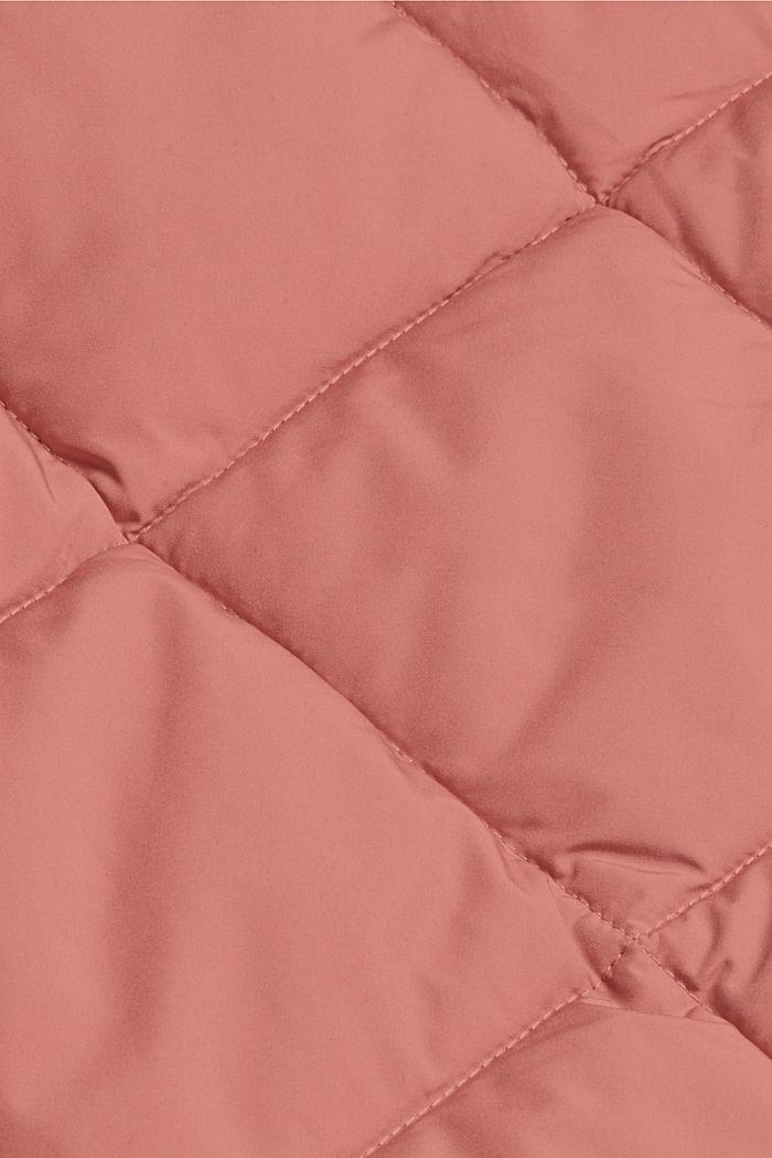 Reciclada: cazadora acolchada con relleno Thinsulate™ de 3M™, CORAL, detail image number 4