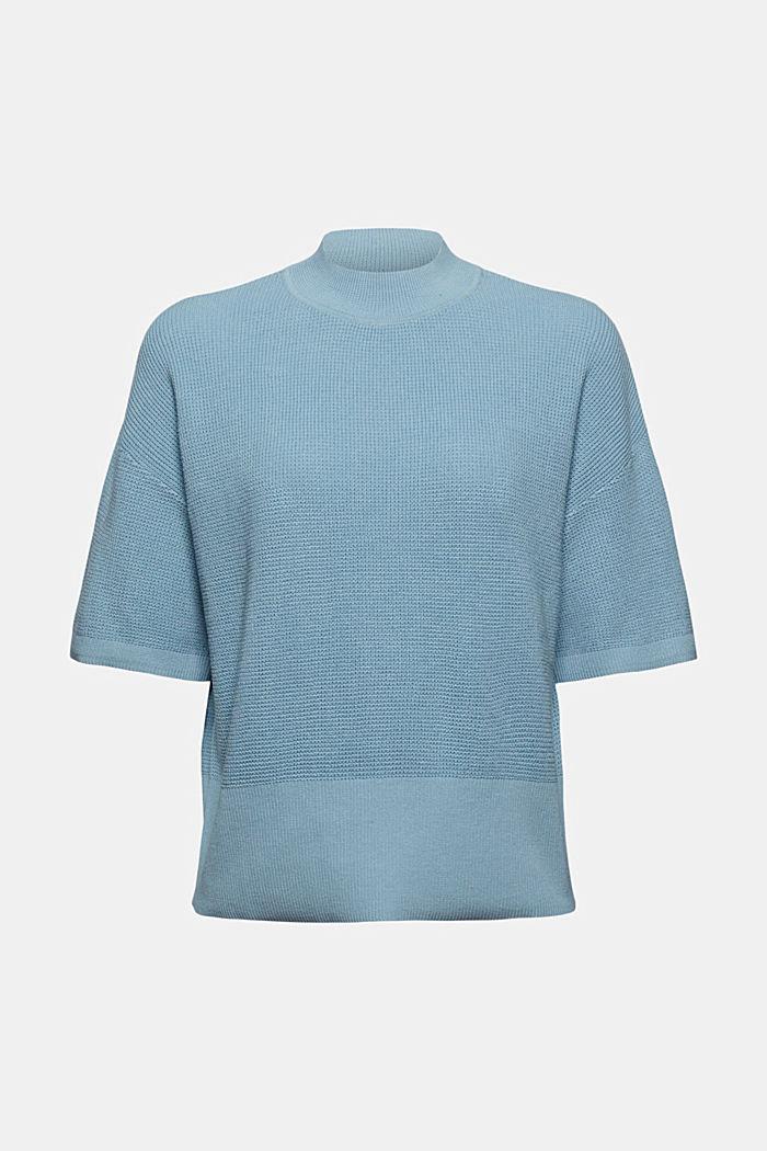 Kurzarm-Pullover aus 100% Bio-Baumwolle