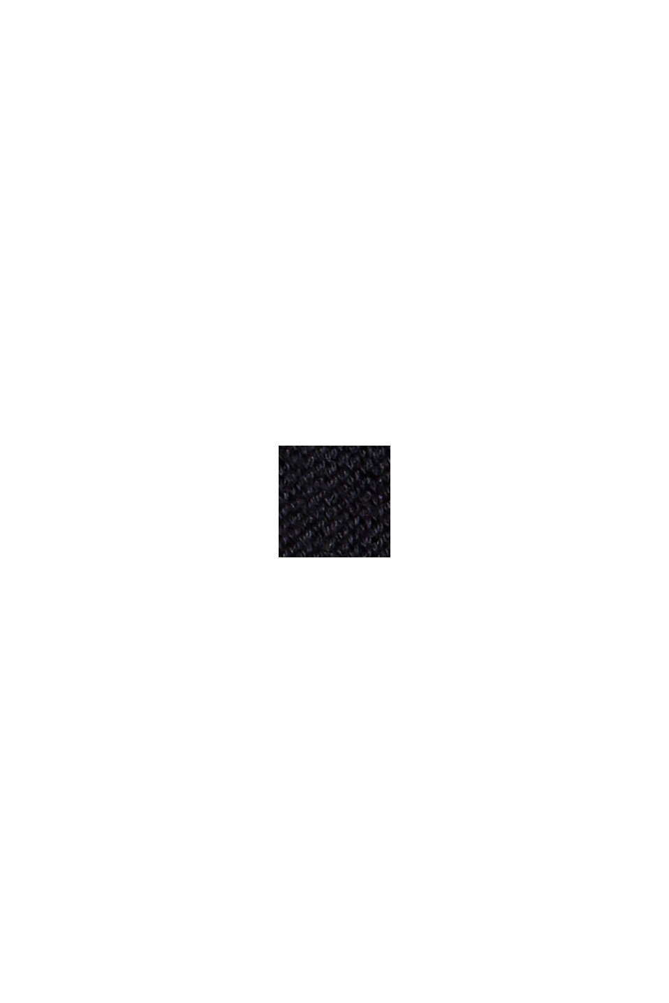 Jumper made of 100% organic cotton, BLACK, swatch