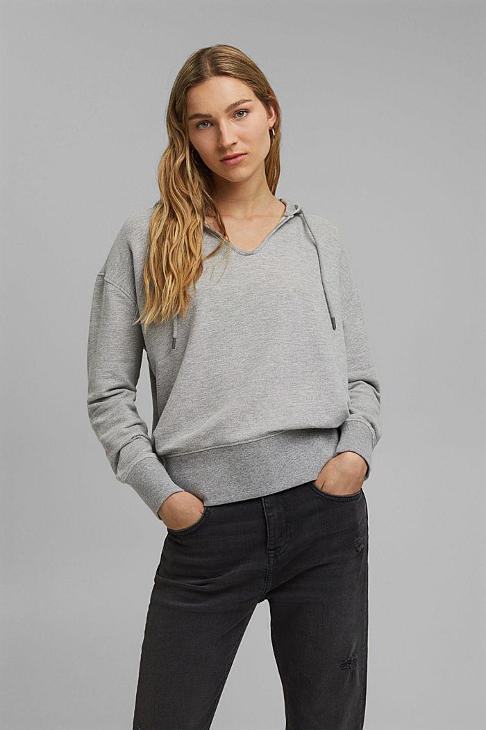 Sweatshirts Relaxed hoodie, MEDIUM GREY, detail image number 0