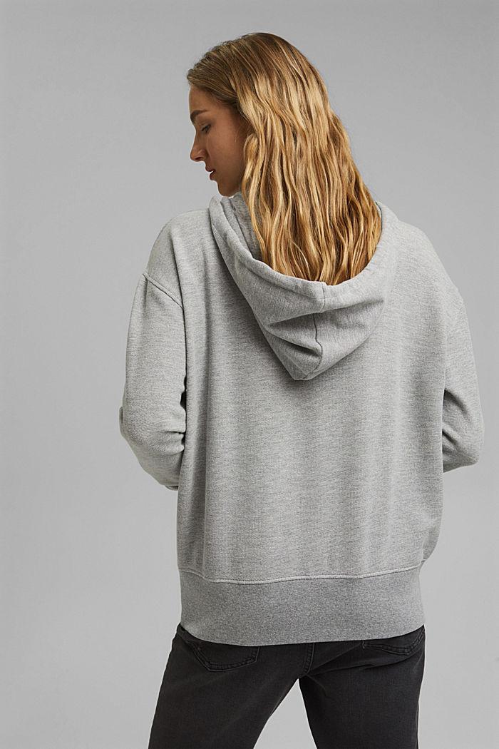 Sweatshirts Relaxed hoodie, MEDIUM GREY, detail image number 3