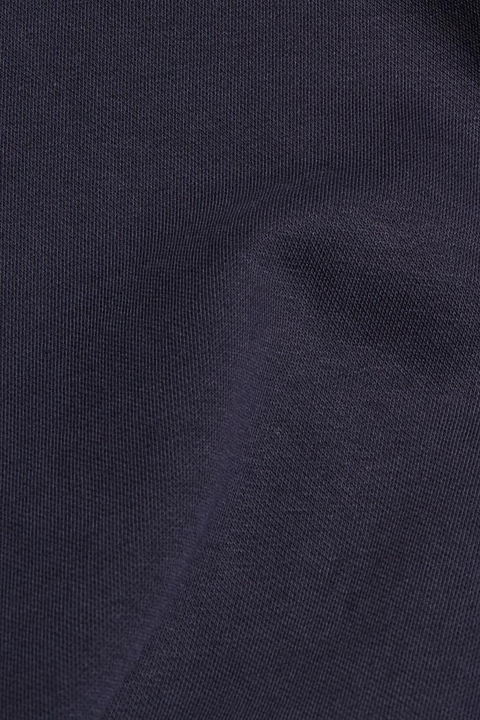Sweatshirt aus Bio-Baumwoll-Mix, NAVY, detail image number 4