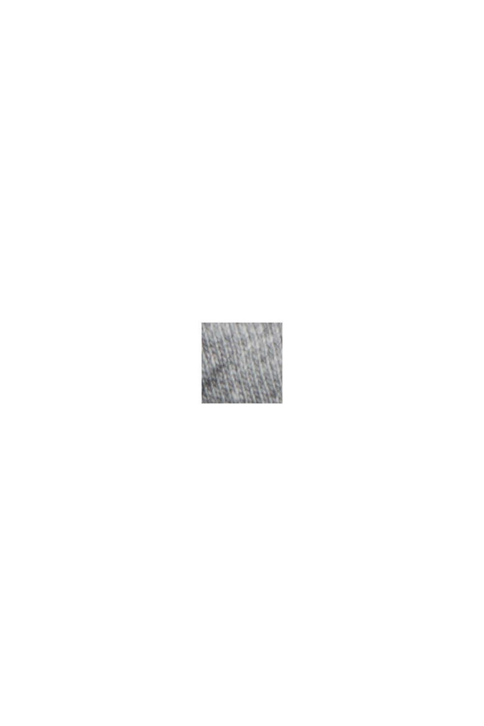 Sudadera confeccionada en una mezcla de algodón ecológico, MEDIUM GREY, swatch