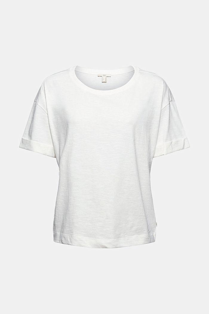 T-shirt in 100% cotone biologico