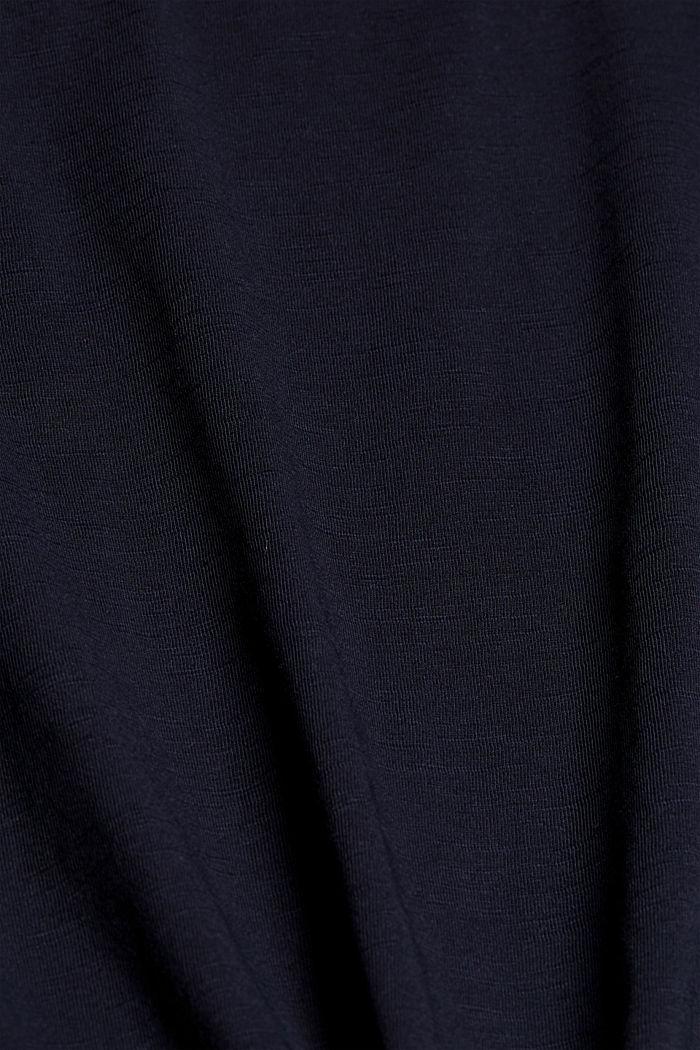 T-Shirt aus 100% Bio-Baumwolle, NAVY, detail image number 4
