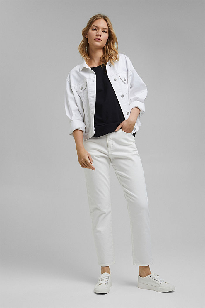 T-Shirt aus Organic Cotton, BLACK, detail image number 1