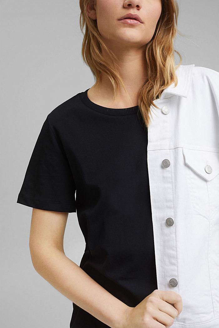 T-Shirt aus Organic Cotton, BLACK, detail image number 2