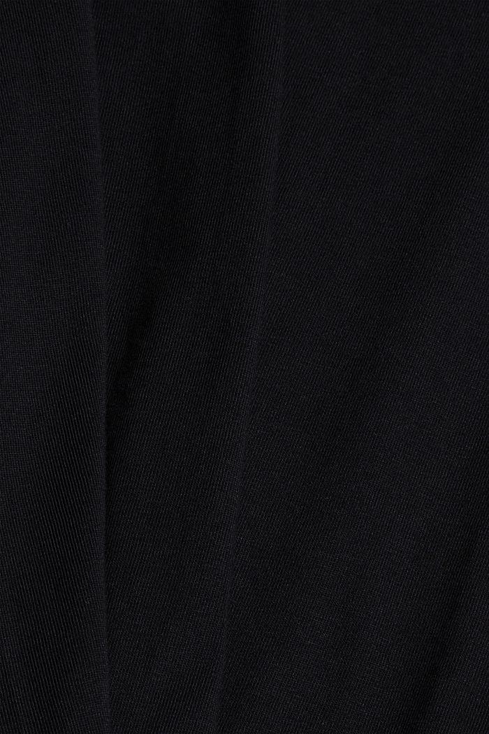T-Shirt aus Organic Cotton, BLACK, detail image number 4