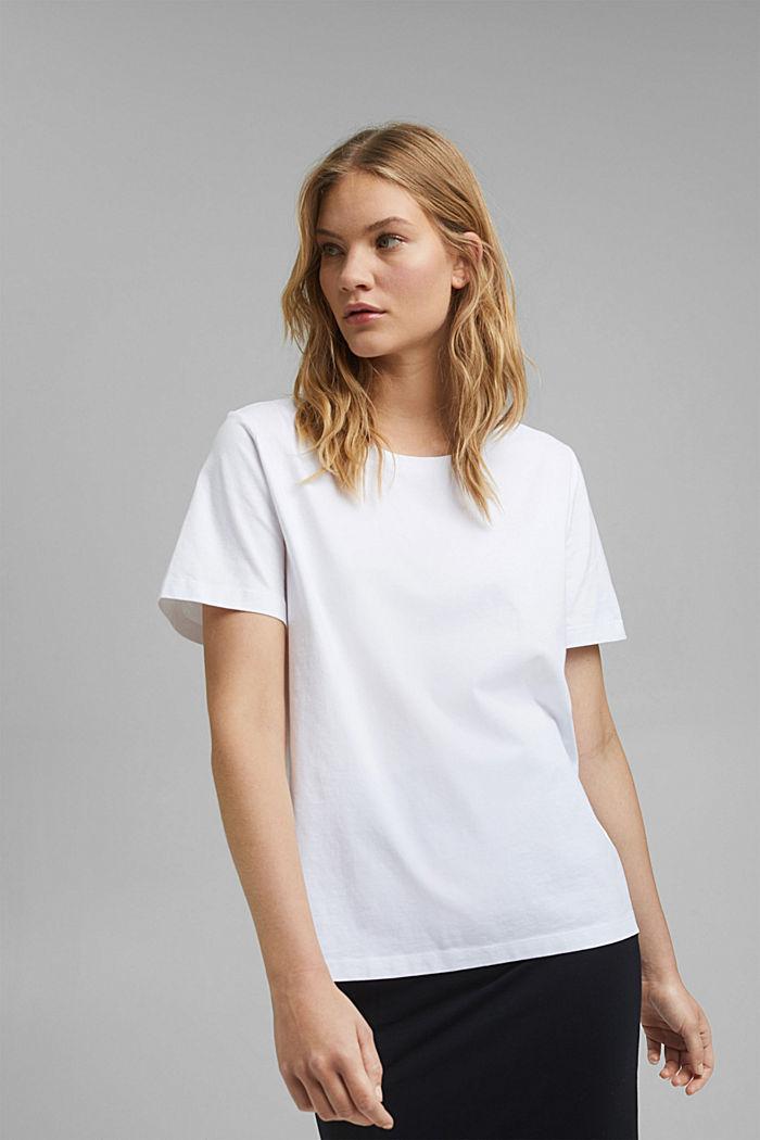 Camiseta en algodón ecológico