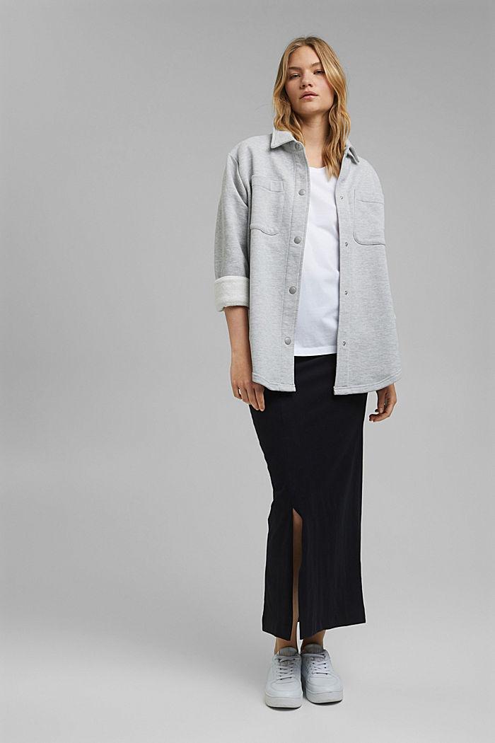 Organic cotton T-shirt, WHITE, detail image number 1